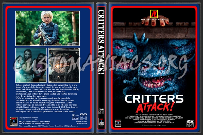 Critters Attack dvd cover