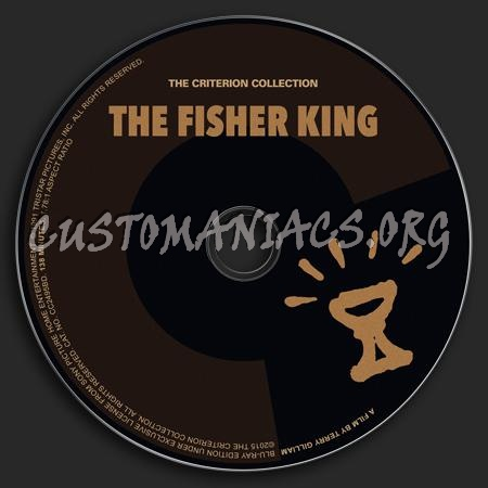 764 - The Fisher King dvd label