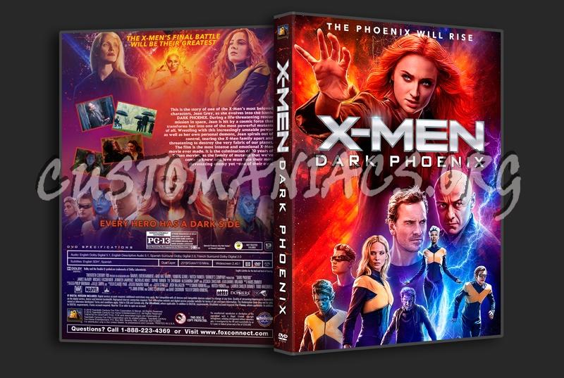 (X-men) Dark Phoenix dvd cover