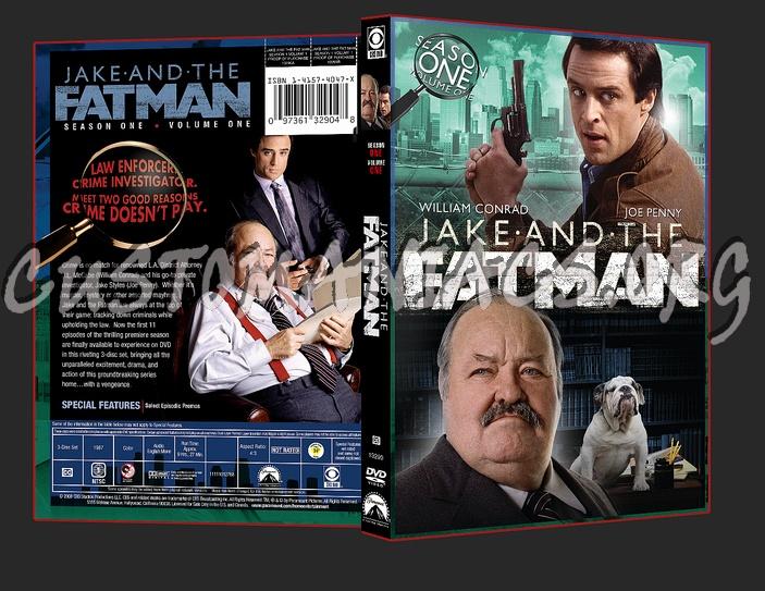 Jake and the Fatman Season 1 Volume 1 dvd cover