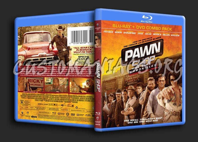 Pawn Shop Chronicles blu-ray cover