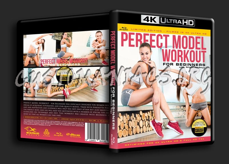 Perfect Model Workout for Beginners blu-ray cover