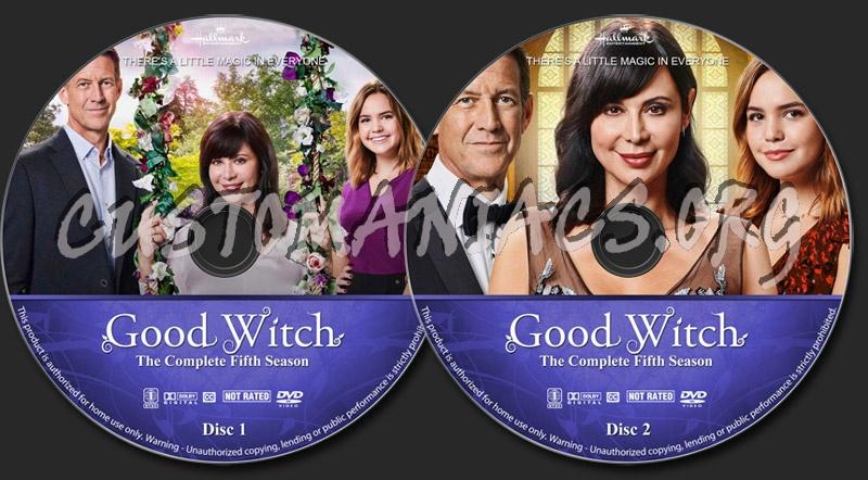 Good Witch - Season 5 dvd label