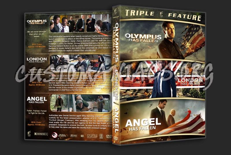 Olympus…London…Angel has Fallen Triple Feature dvd cover