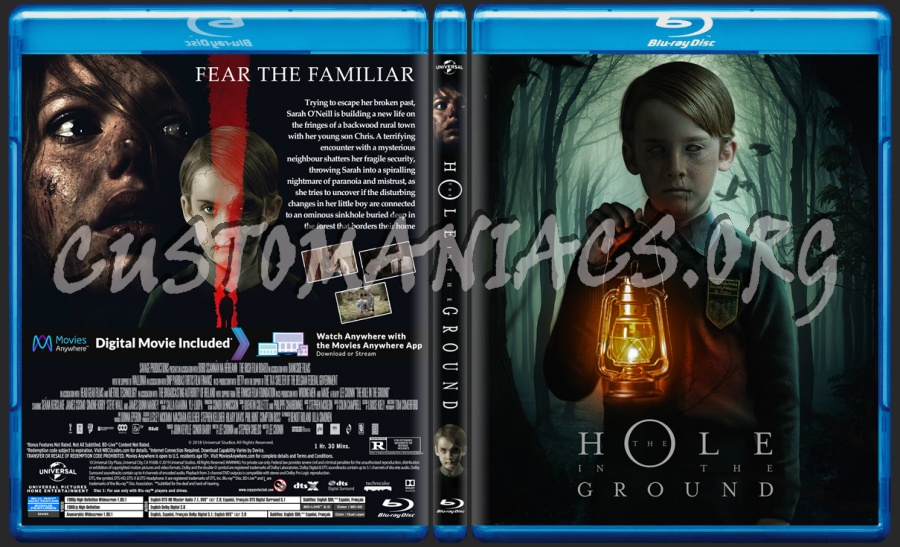 The Hole In The Ground blu-ray cover