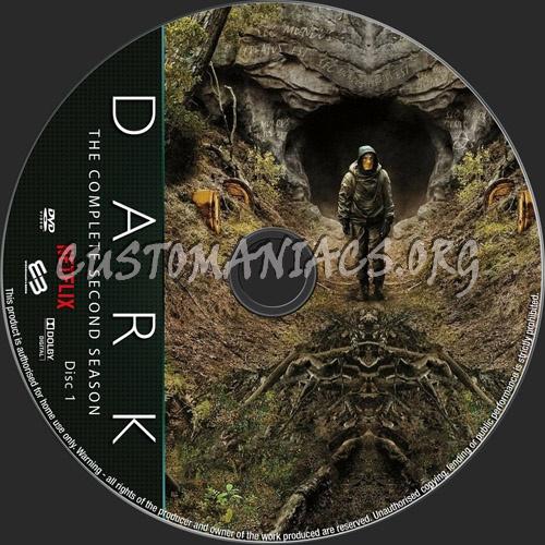 Dark Season 2 dvd label