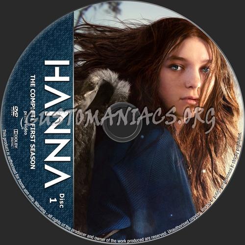 Hanna Season 1 dvd label