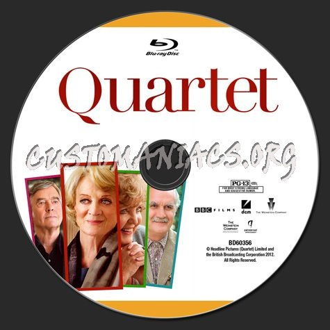 Quartet blu-ray label