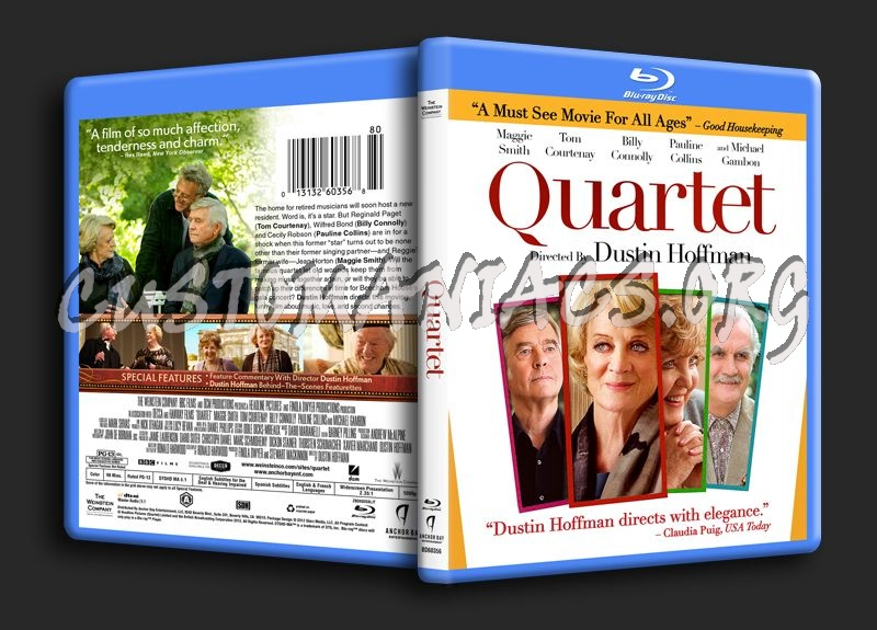 Quartet blu-ray cover