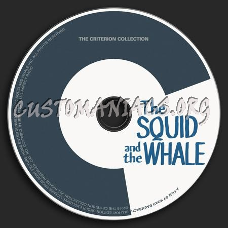 845 - Squid And The Whale dvd label