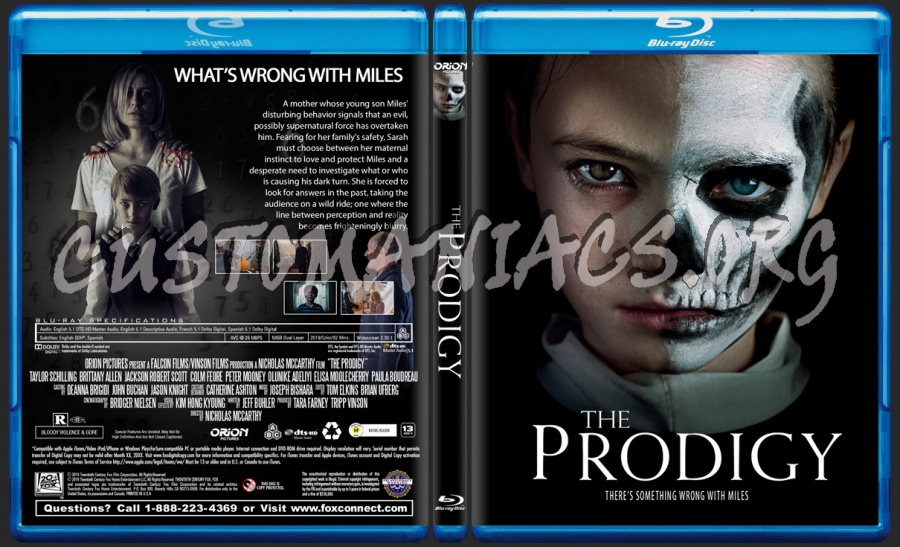 The Prodigy 2019 blu-ray cover