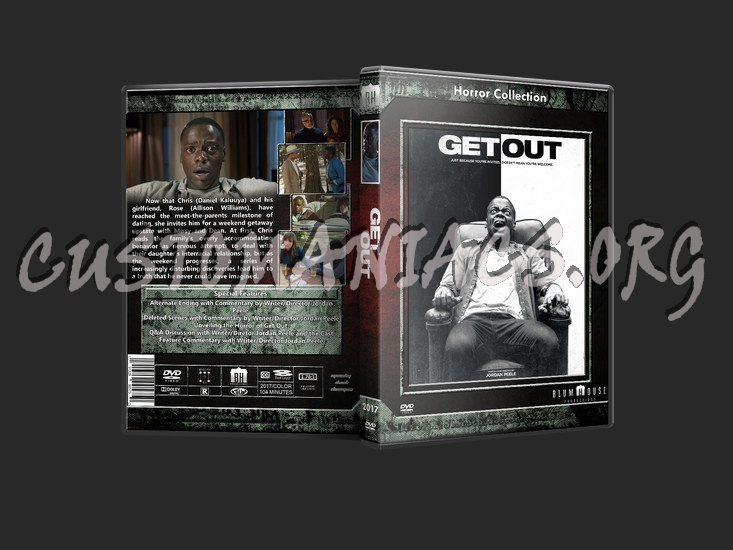 Get Out dvd cover