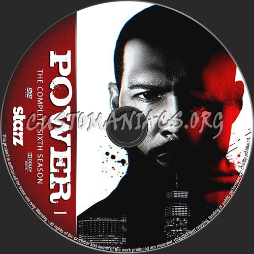 Power Season 6 dvd label