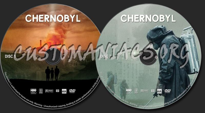 Chernobyl dvd label