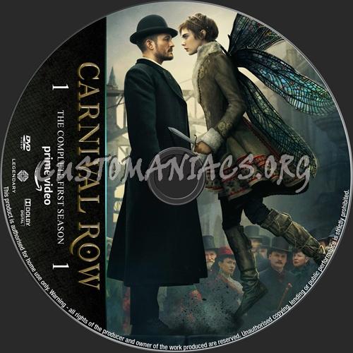 Carnival Row Season 1 dvd label