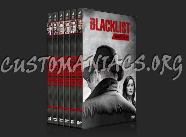 The Blacklist - Seasons 1-6 dvd cover