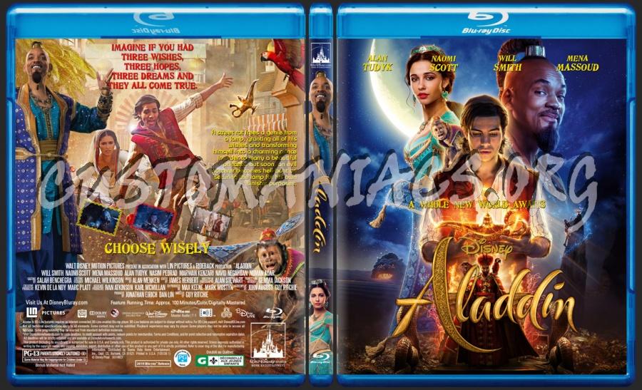 Aladdin(2019) blu-ray cover