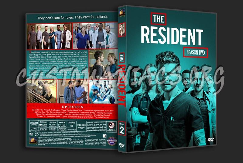 The Resident - Season 2 dvd cover
