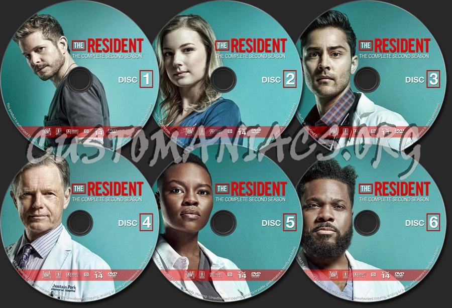 The Resident - Season 2 dvd label