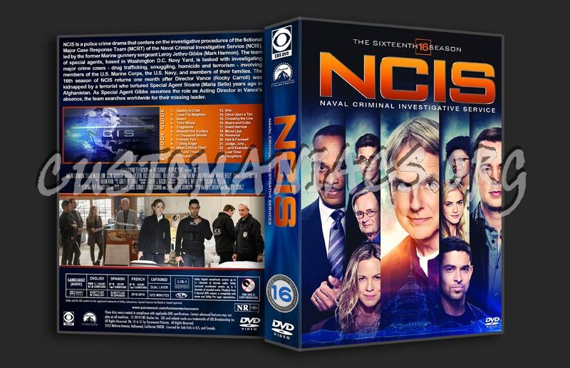 NCIS - Season 16 dvd cover
