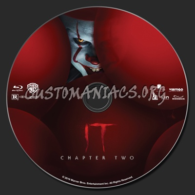 It Chapter Two blu-ray label
