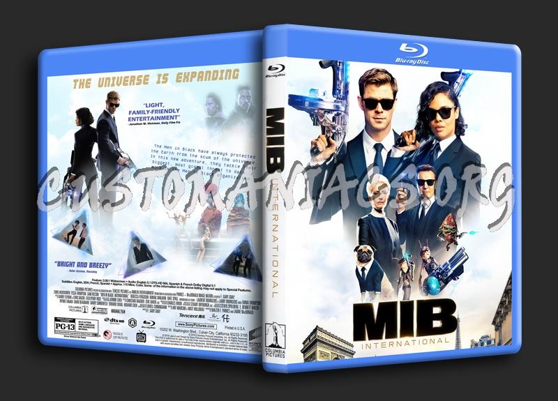 Men In Black: International blu-ray cover