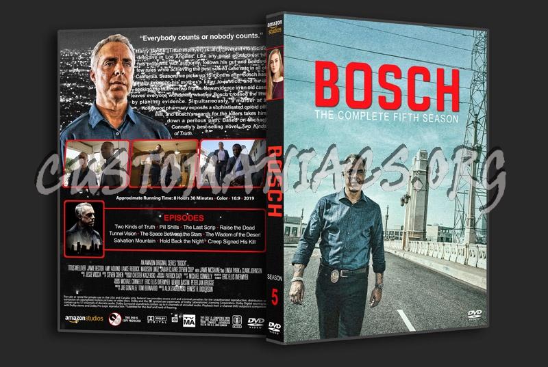 Bosch - Season 5 dvd cover