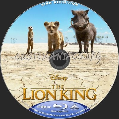 The Lion King 2019 Blu Ray Label Dvd Covers Labels By
