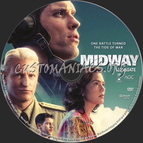 Midway 2019 dvd label