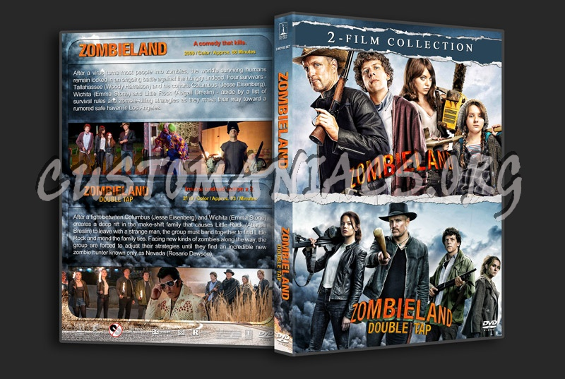 Zombieland Double Feature dvd cover