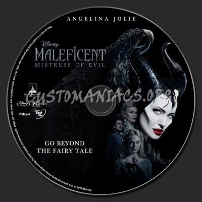 Maleficent: Mistress Of Evil blu-ray label