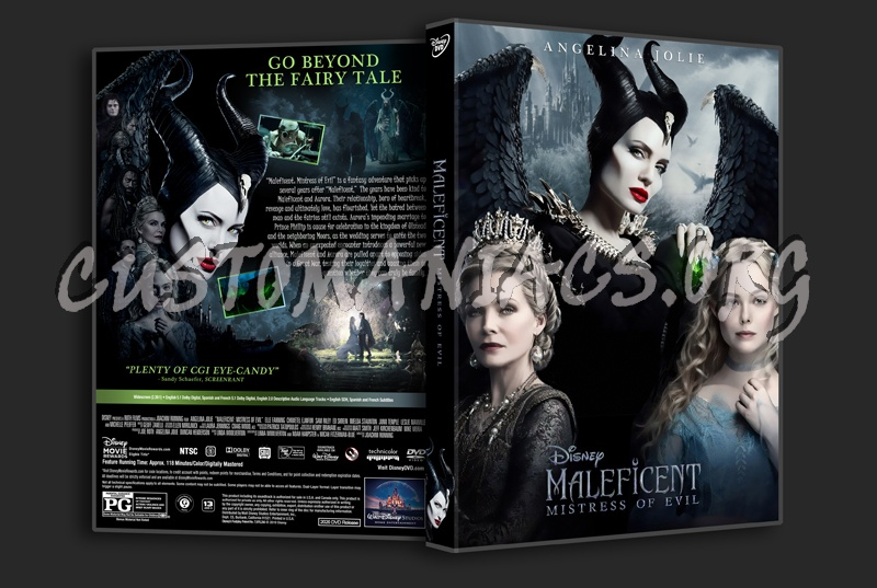 Maleficent: Mistress Of Evil dvd cover