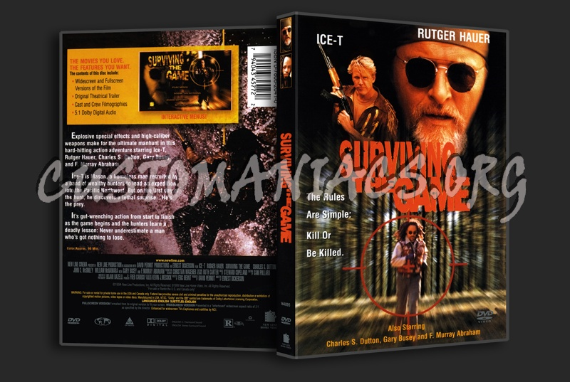 Surviving the Game dvd cover