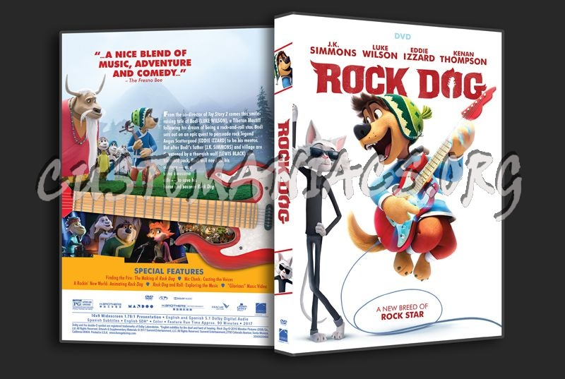 Rock Dog dvd cover
