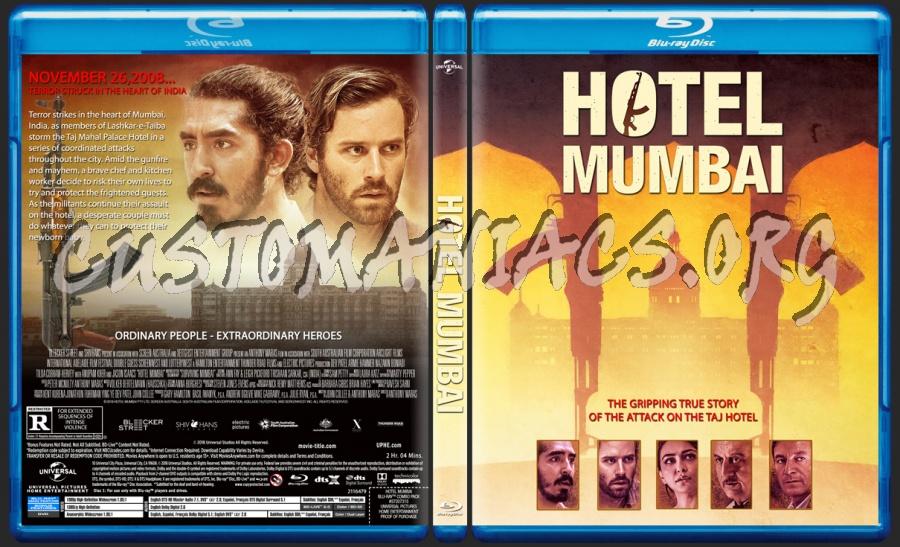 Hotel Mumbai blu-ray cover