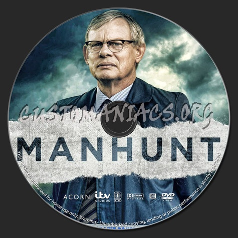 Manhunt dvd label