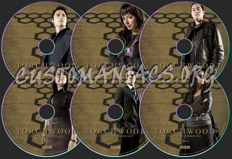 Torchwood Series 1 dvd label