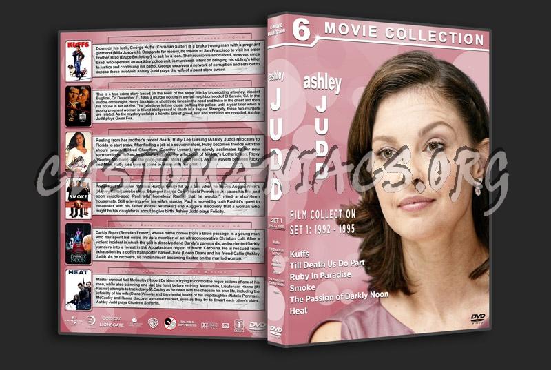 Ashley Judd Filmography - Set 1 (1992-1995) dvd cover