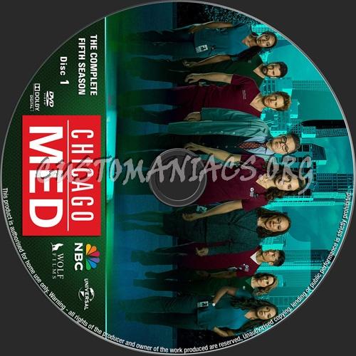 Chicago Med Season 5 dvd label