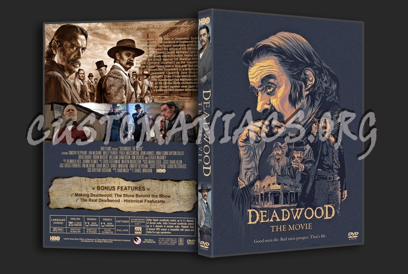 Deadwood The Movie dvd cover