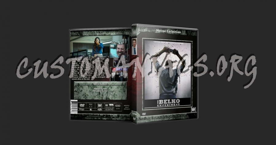 Belko Experiment dvd cover
