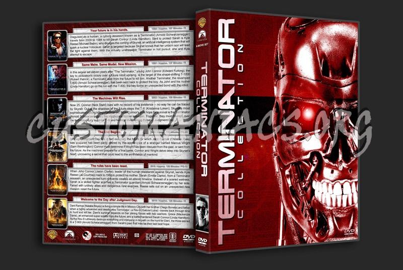 Terminator Collection (6) dvd cover