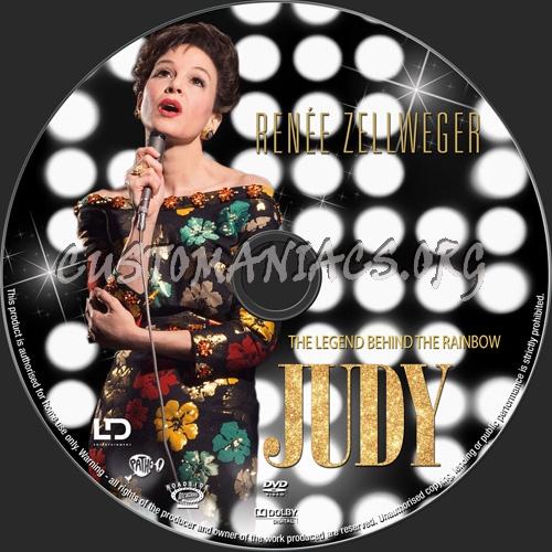 Judy 2019 dvd label
