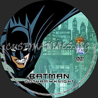 Batman Gotham Knight dvd label