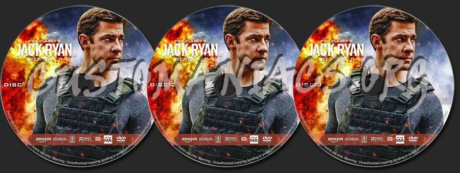 Jack Ryan - Season 1 dvd label