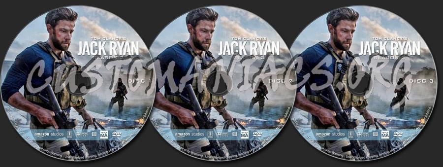 Jack Ryan - Season 2 dvd label