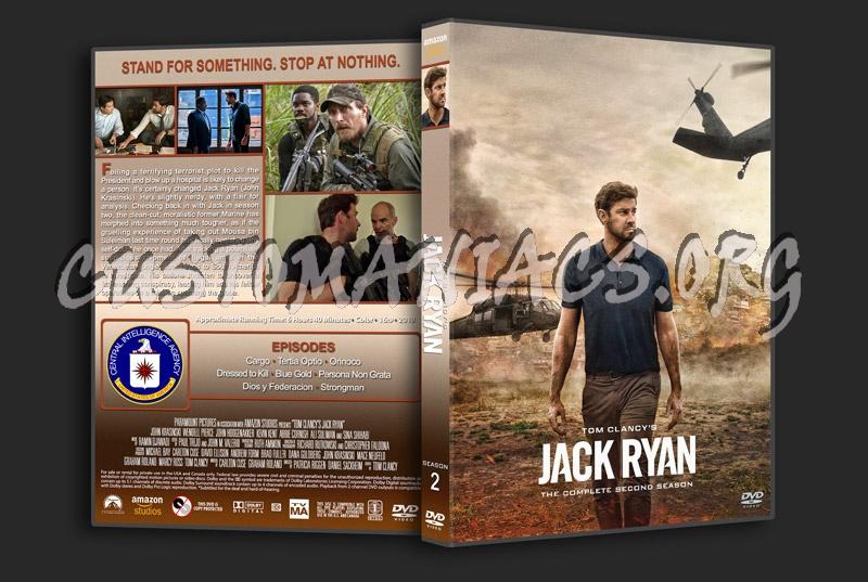 Jack Ryan - Season 2 dvd cover