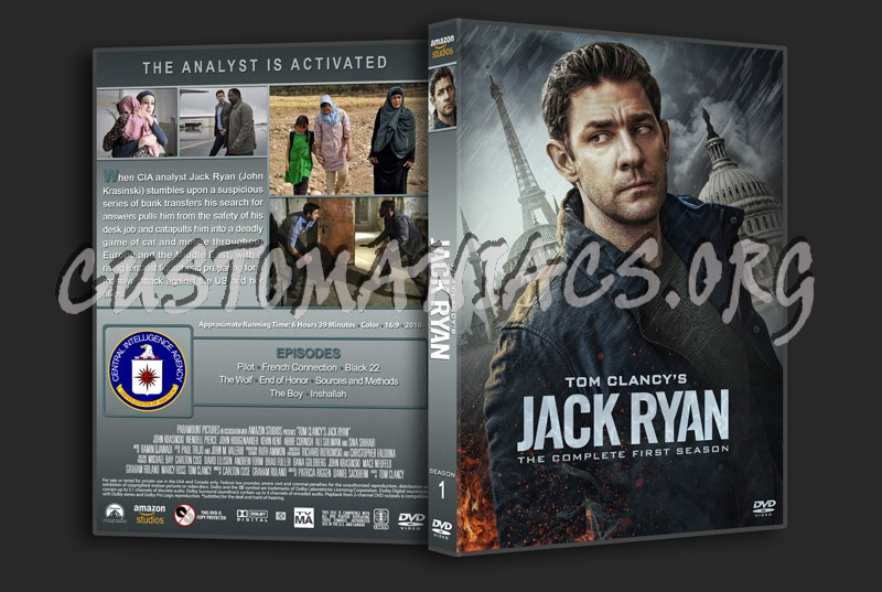 Jack Ryan - Season 1 dvd cover