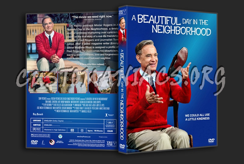A Beautiful Day in the Neighborhood dvd cover