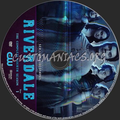 Riverdale Season 4 dvd label